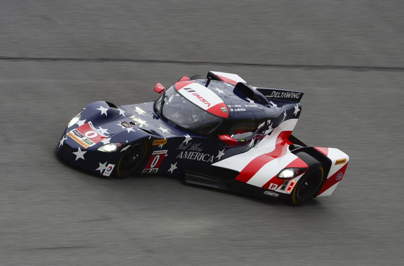 Panoz DeltaWing Fastest For First Time