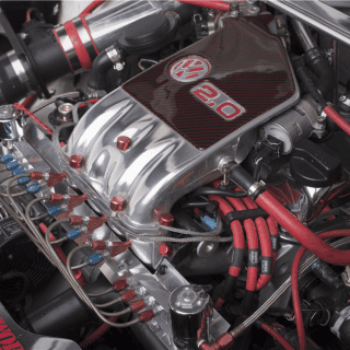 The Fast and Furious 1995 Volkswagen Jetta Engine Photos