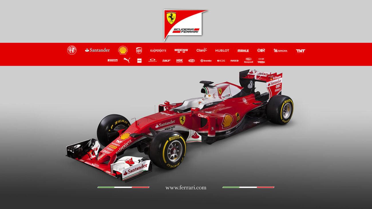 2016 Ferrari F1 Car - SF16-H Photos