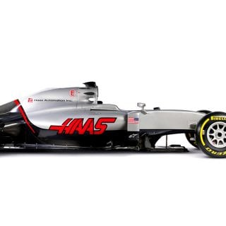 2016 Haas F1 Car Photos