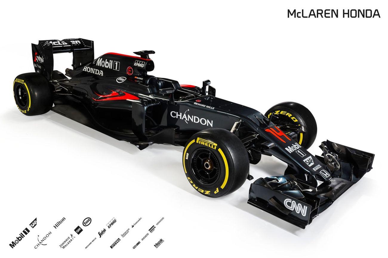 2016 McLaren Honda F1 car photos