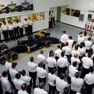 2016 Renault F1 Car Livery Lotus E23