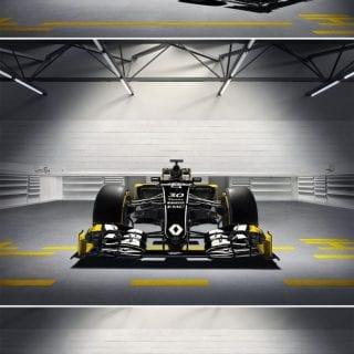 2016 Renault F1 Car Livery Photos