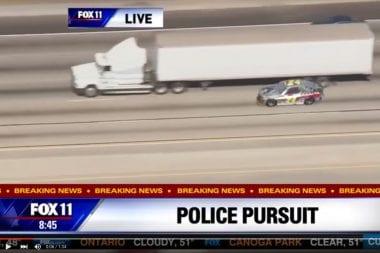 Jeff Gordon Police Chase Video - Police Pursuit Fox Studios