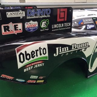 Jim Dunn Racing Oberto Beef Jerky Drag Racing Car 2016 Nitro Funny Car