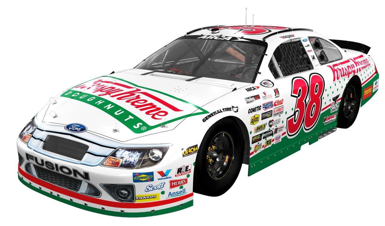 Lira Motorsports Driver Grey Gaulding for Lucas Oil 200