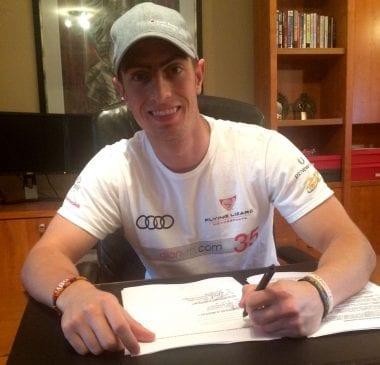 Audi SportsCar Driver Audi Dion von Molte Becomes Audi Brand Ambassador