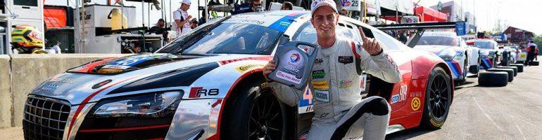 SportsCar Driver Dion von Molte Becomes Audi Brand Ambassador
