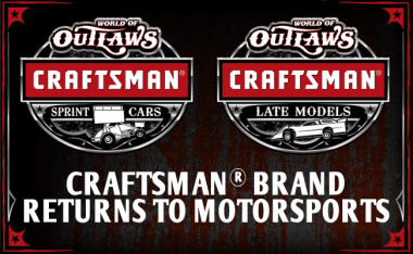 World of Outlaws Crasftsman Series Title Sponsor