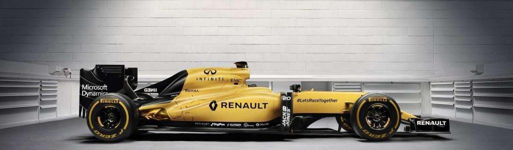 2016 Renault Sport F1 Car
