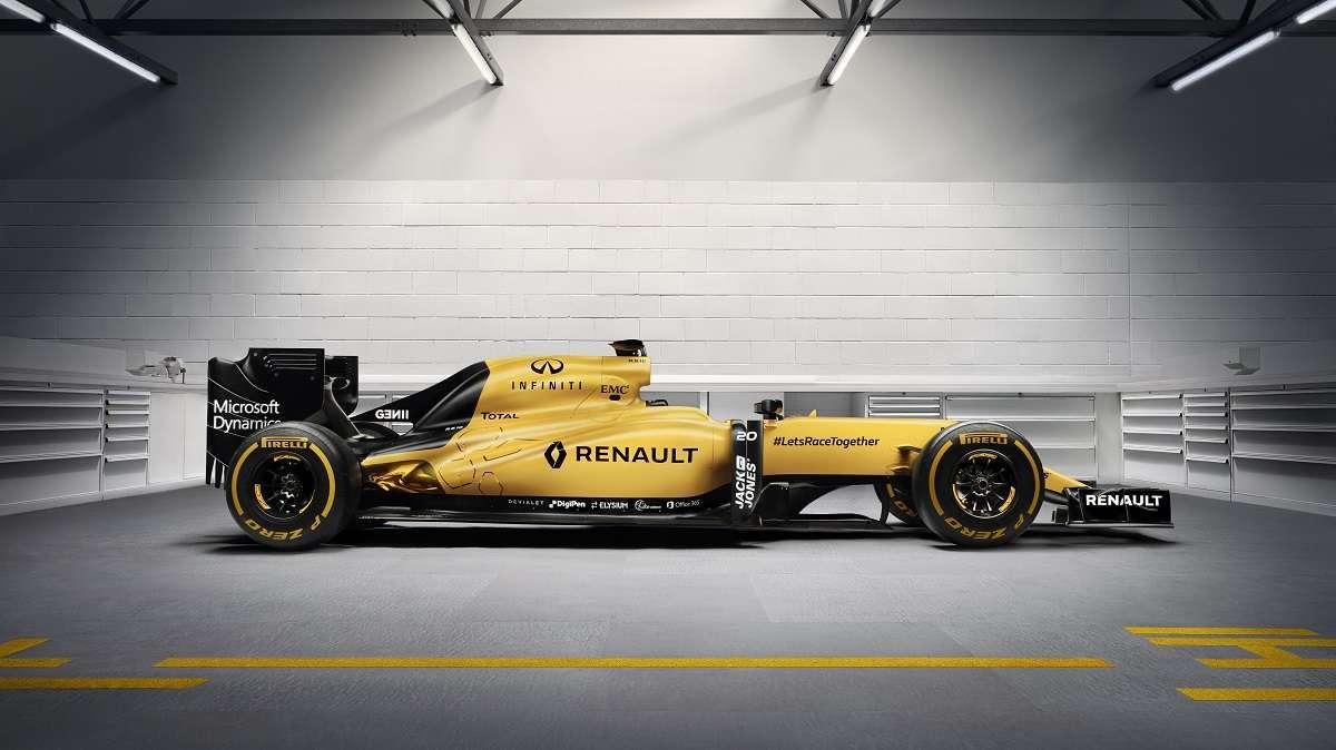 2016 Renault Sport F1 Car Photos Infiniti