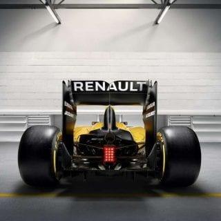 2016 Renault Sport F1 Car Photos - Rear Photo
