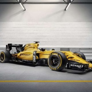 2016 Renault Sport F1 Car Photos Side View