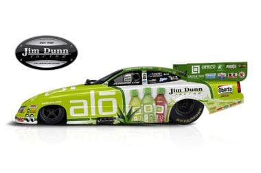 ALO Drink Car - Charger Funny Car_Jim Dunn Racing