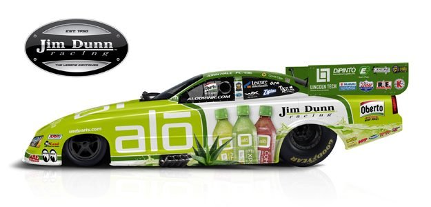 Jim Dunn Racing Debuts ALO Drink Car