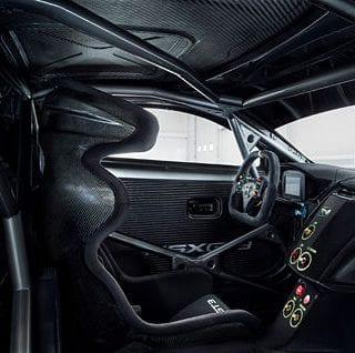 Acura NSX GT3 Interior Photos