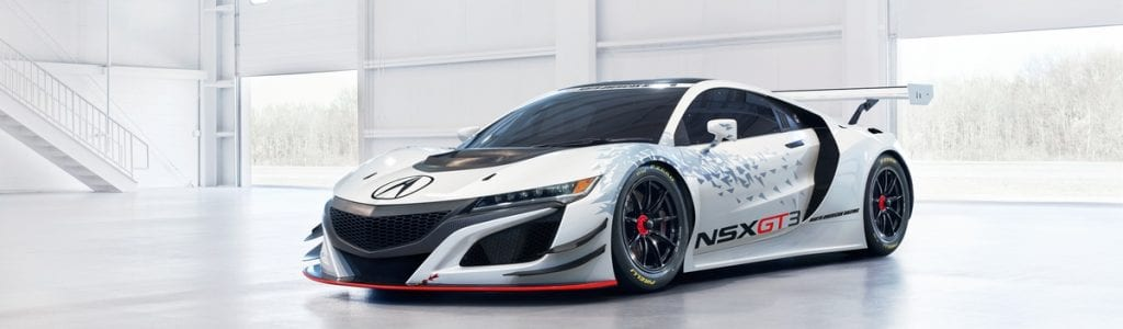 Acura NSX GT3 Racecar Photos Released