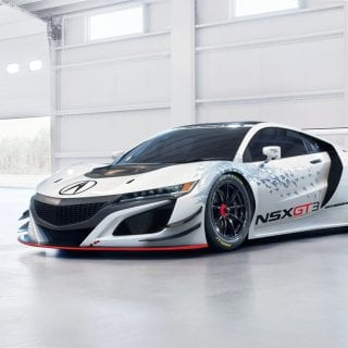 Acura NSX GT3 Racecar Photos