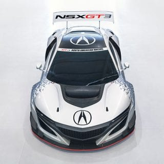 Acura NSXGT3 Racecar Photos