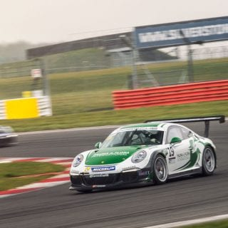 Alessandro Latif 2016 Porsche Carrera Cup GB Car