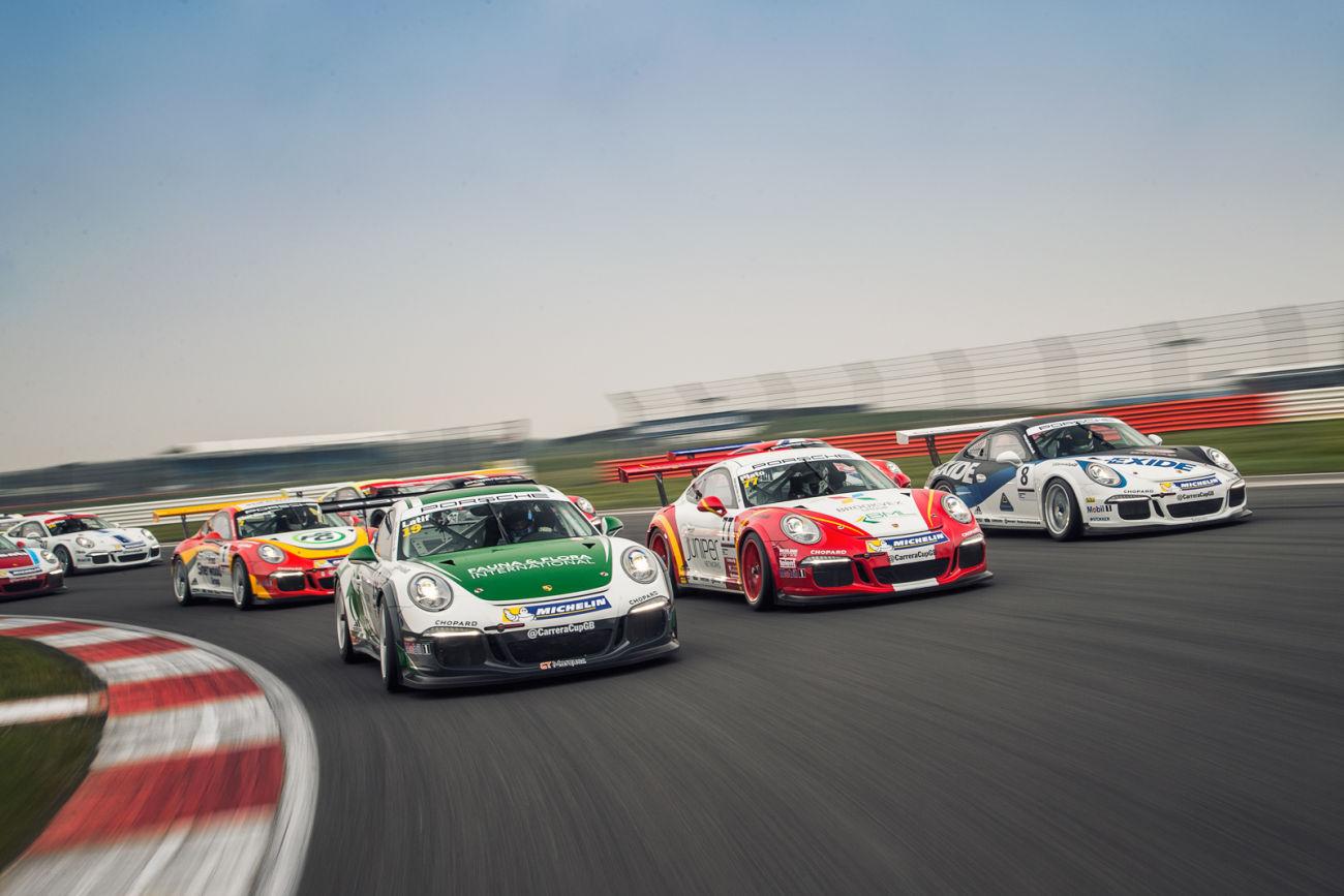 Alessandro Latif 2016 Porsche Carrera Cup GB Car Photos