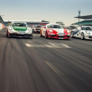 Alessandro Latif Unveils 2016 Porsche Carrera Cup GB