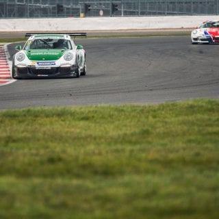 Alessandro Latif Unveils 2016 Porsche Carrera Cup GB Car