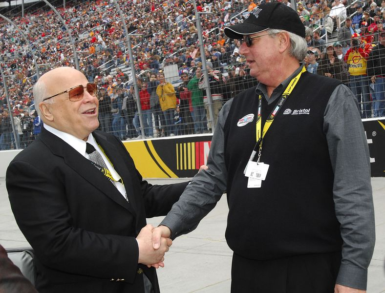 Bristol Motor Speedway owner Bruton Smith