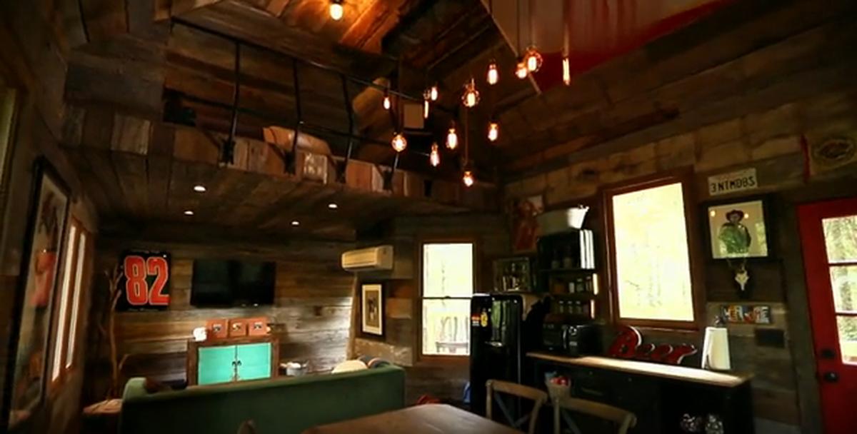 Dale Earnhardt Jr Treehouse Interior