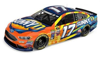 Ricky Stenhouse Jr SunnyD NASCAR Racecar Photo Released