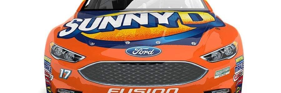 Ricky Stenhouse Jr SunnyD NASCAR Racecar