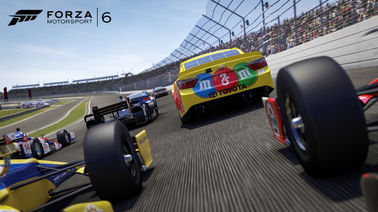 Forza NASCAR Expansion Pack - NASCAR Indycar Forza Car Screenshot