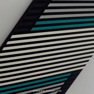 Shane Walters Art Modern Minimalist AMG Mercedes Formula One Team Painting 14 2980