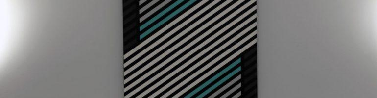 Mercedes F1 Painting – Modern Minimalist Style