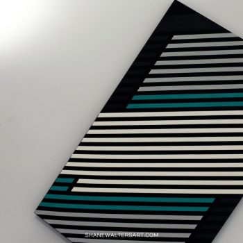 Shane Walters Art Modern Minimalist Lewis Hamilton F1 Painting 14 2983