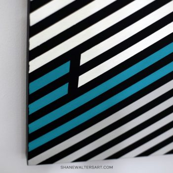 Shane Walters Art Modern Minimalist Lewis Hamilton Formula One Driver Painting 14 2987