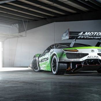 Acura NSX EVConcept RaceCar