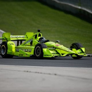 Brad Keselowski Indy car Test Photos - NASCAR Driver Test Indy