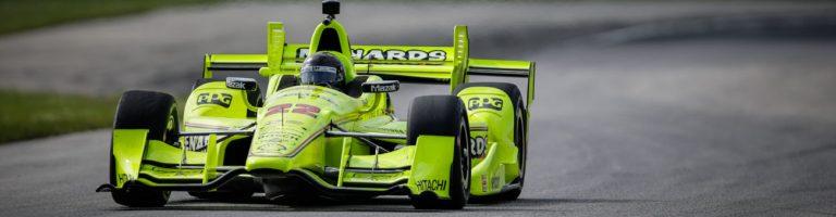Brad Keselowski Indycar Test