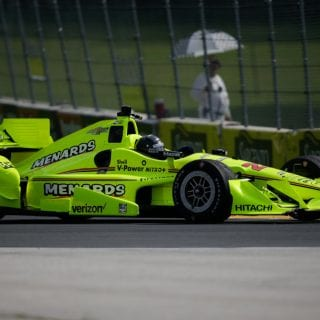 Brad Keselowski Indycar Test Photos - Menards Car