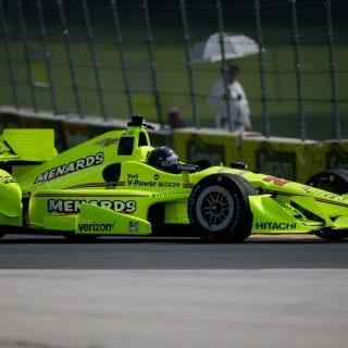 Brad Keselowski Indycar Test Racing News