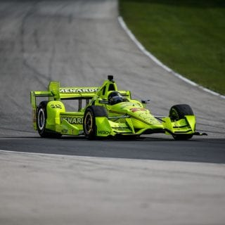 Brad Keselowski Team Penske Indycar Test Photos