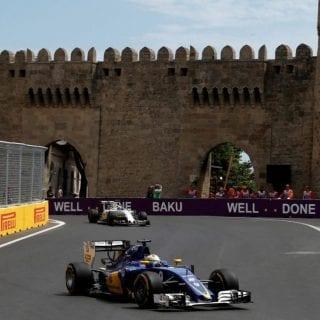 F1 Baku City Castle
