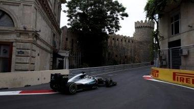 F1 Baku City Circuit Photos