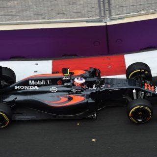 F1 Baku City Circuit Photos - Jenson Button