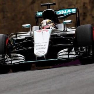 F1 Baku City Circuit Photos - Lewis Hamilton