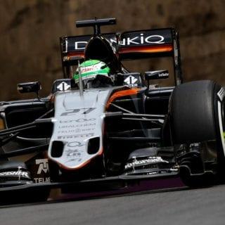 F1 Baku City Photos - Force India