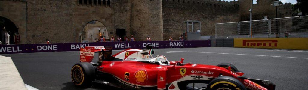 F1 Baku City Photos