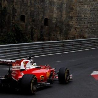 F1 Baku City Photos - Sebastian Vettel