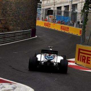 F1 Baku City Photos - Valtteri Bottas
